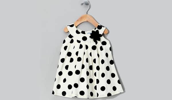 vestido de niña sin molde