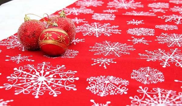 como hacer camino de mesa navideño facil