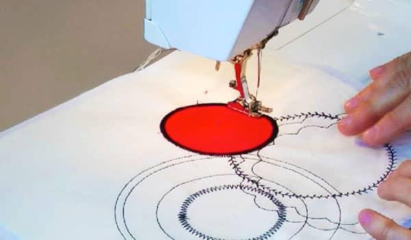 truco para coser en circulo