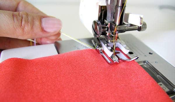 Como coser telas de punto
